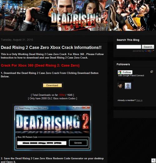 website of zombie doom