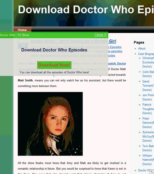 Doctor Who blog