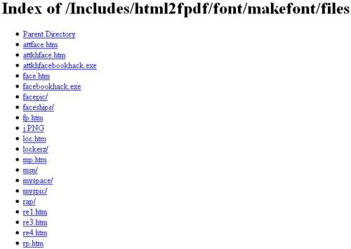 fake programs website