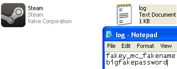 stolen login