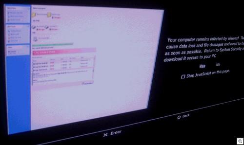 PS3 Fake AV