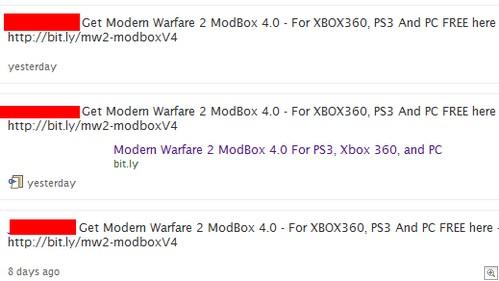 modbox spam
