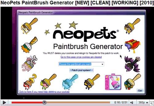 Neopets Fake Generator
