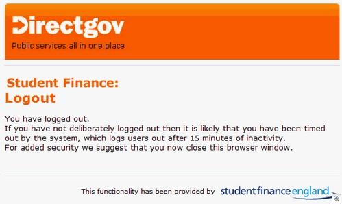 student loans phish logout