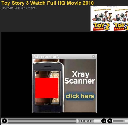 Toy Story advert fail