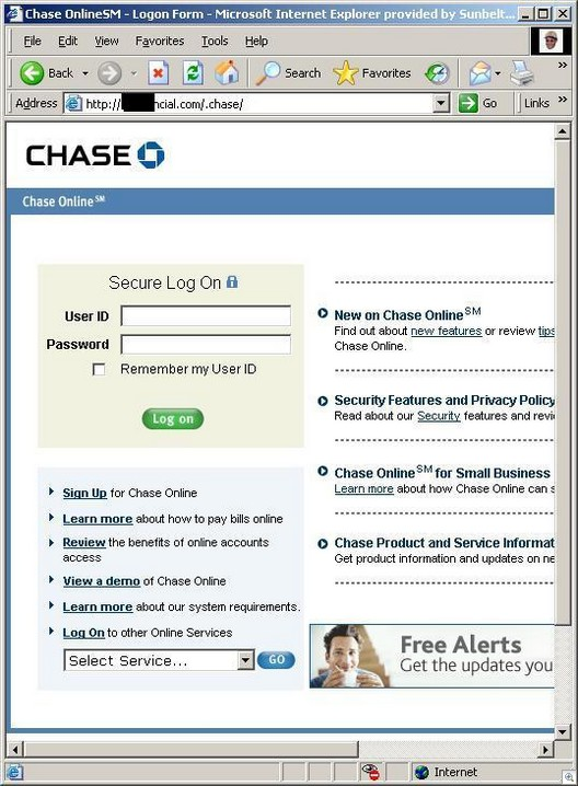 Chasephishe3financial