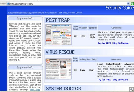 Cleansoftwares.com_securityguide1262006
