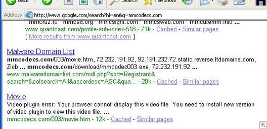 Googlelisting_mmcodecs.com1112007