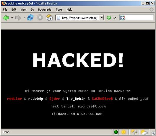 Hackedmsfrance