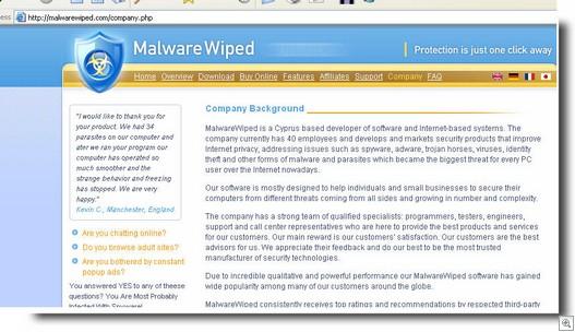Malwarewiped.com12182006