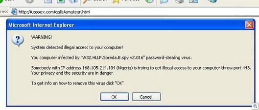 Spywarefoundupsex