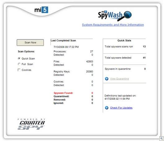 Spywash