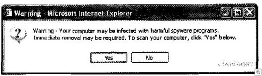 Warningboxspywarecleaner